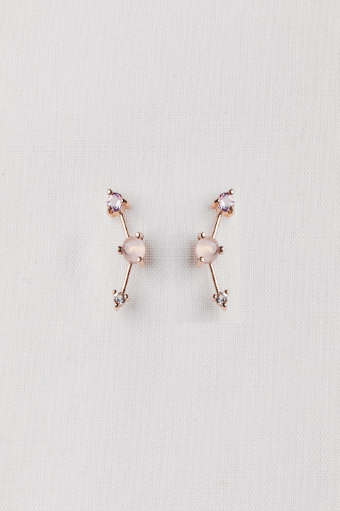 Curious Creatures Joelle Rose Gold Ear Stud