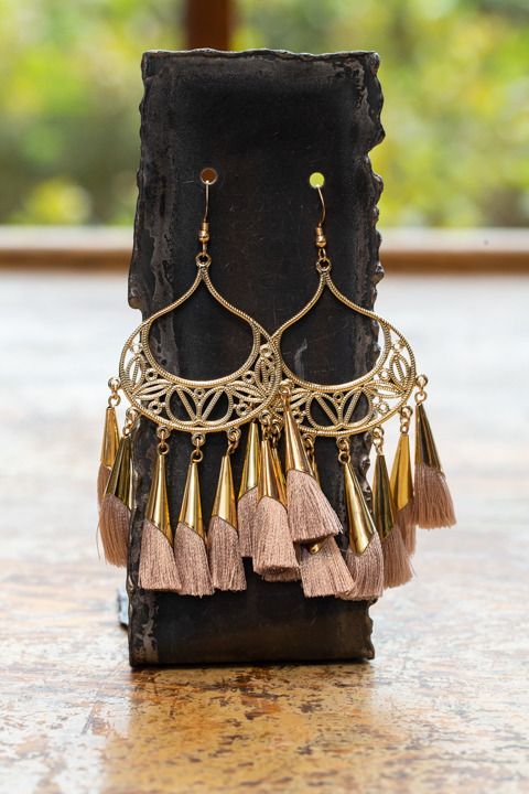 Love Poppy Jewels Brown Tassel Time