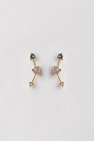 Curious Creatures Joelle Gold Ear Stud