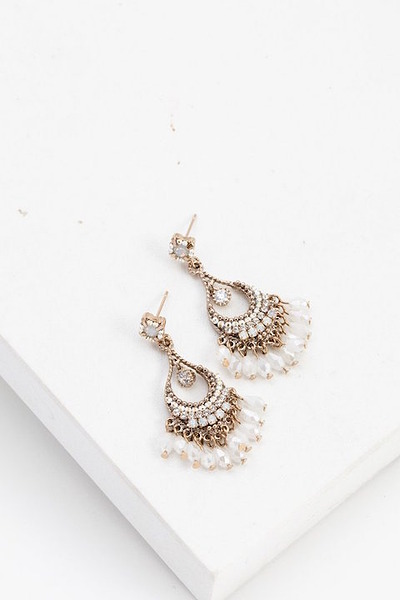 Lovers Tempo Coco Beaded Chandelier Earrings 2