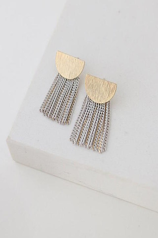 Lovers Tempo Sundown Fringe Earrings