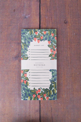 Rifle Paper Co. Strawberry Field List