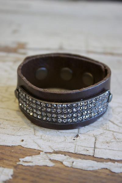 4 row crystal bracelet bracelet rebel designs for Rebel designs jewelry sale
