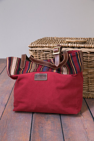 Cranberry Bodwin Tote