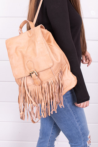 Cut N Paste Scarlett Fringed Backpack