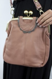 Tan Edie Frame Bag