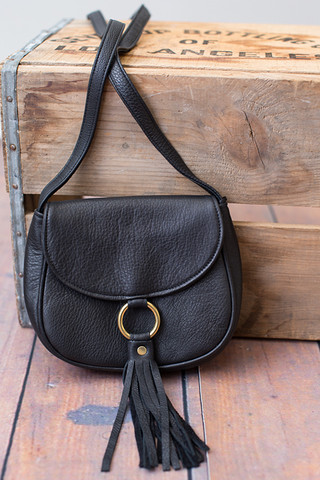 JJ Winters Scarlett Mini Saddle Bag
