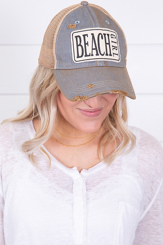 Live Happy Co. Beach Girl Hat