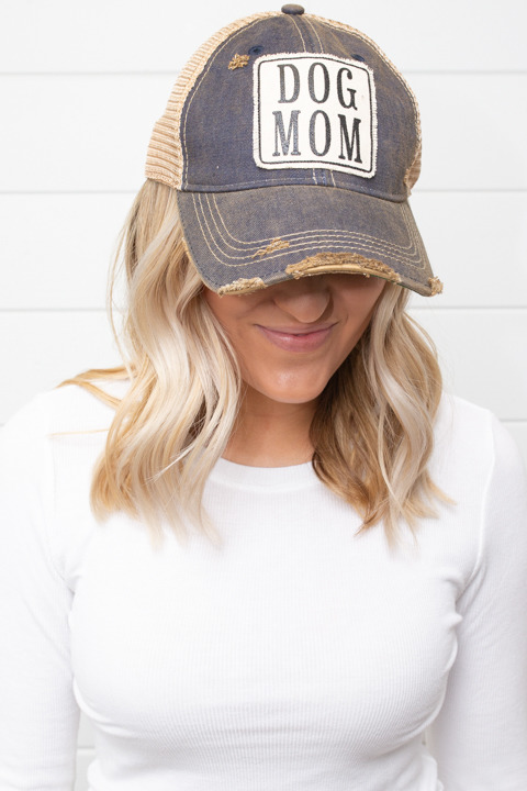 Live Happy Co. Dog Mom Hat
