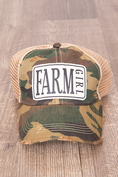 Live Happy Co. Farm Girl Hat 2