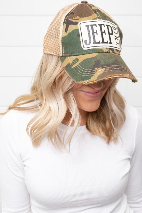 1d4562b03abd2 Jeep Girl Hat