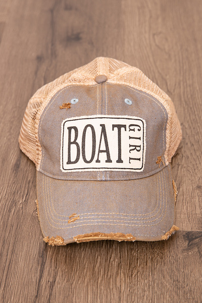 Live Happy Co. Boat Girl Hat 2