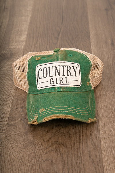 Live Happy Co. Country Girl Hat 2