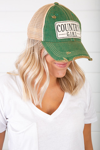 Live Happy Co. Country Girl Hat