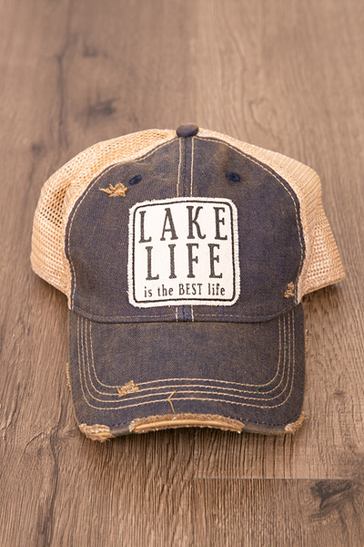 Live Happy Co. Lake Life Hat 2