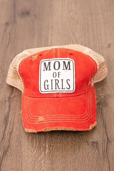 Live Happy Co. Mom Of Girls Hat 2