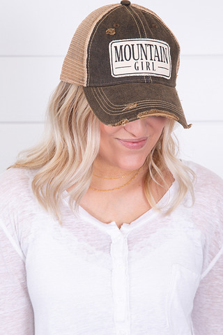 Live Happy Co. Mountain Girl Hat