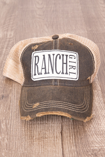 Live Happy Co. Ranch Girl Hat 2