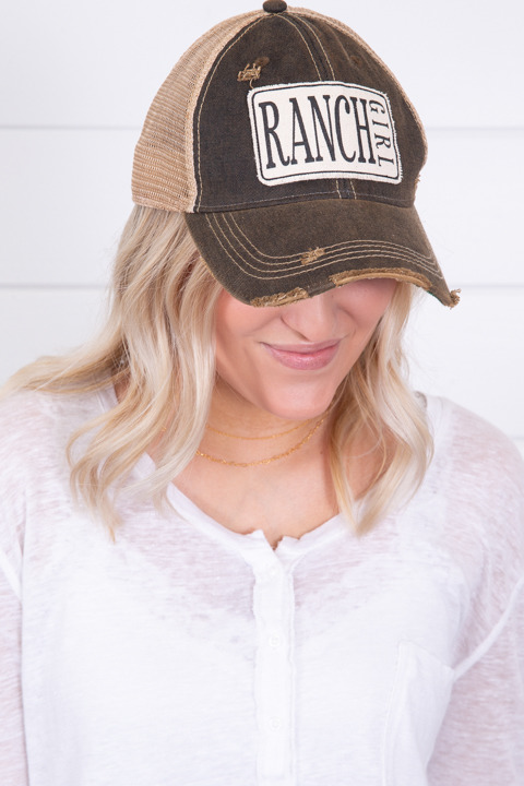 Live Happy Co. Ranch Girl Hat