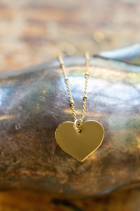Yunis K Jaime Heart Necklace