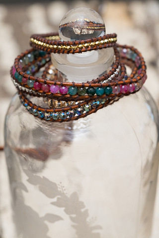 The Lizou Collection Carnival Wrap Bracelet