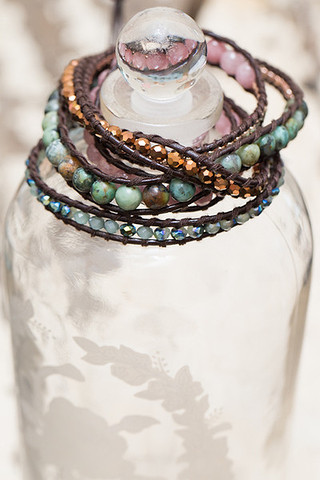 The Lizou Collection Ivy Wrap Bracelet