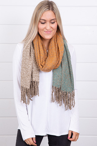 Lovestitch Color Block Scarf