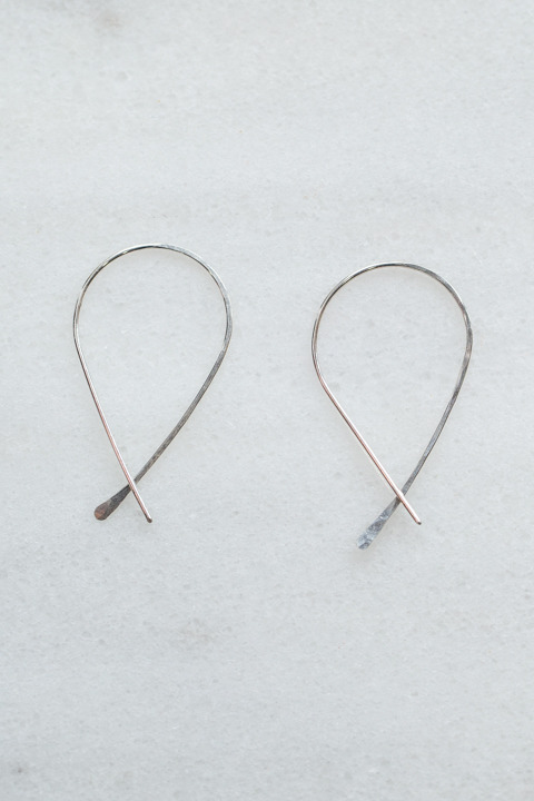 Nashelle Lucky Loop Earrings
