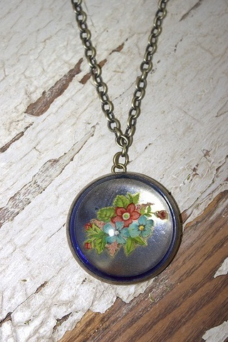 Serendipity Designs by Susan Flowers From the Garden Necklace