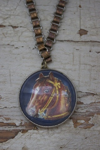 Serendipity Designs by Susan Giddy Up Necklace