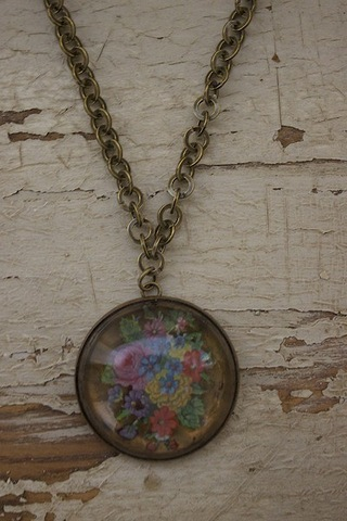 Serendipity Designs by Susan Golden Bouquet Necklace
