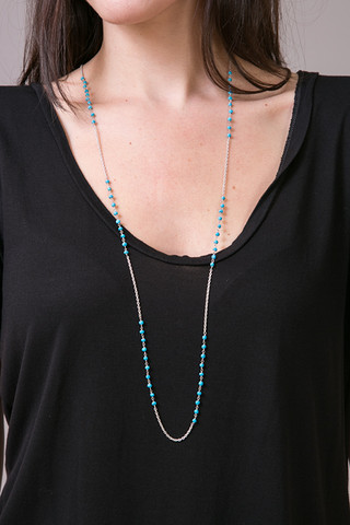 Long Turquoise Necklac..
