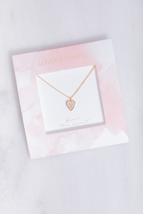Lovers Tempo From The Heart Necklace