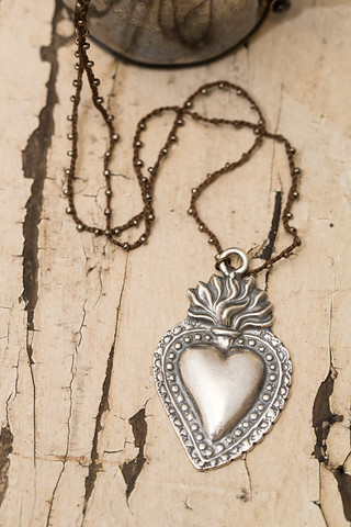 Milagro Silver Heart