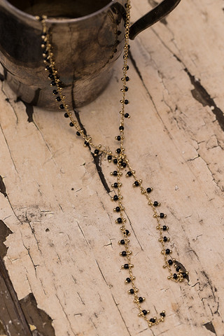 Naomi Black Necklace