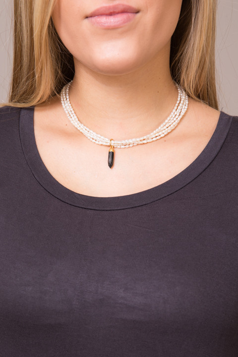 Vanessa Mooney Madison Pearl Necklace 2