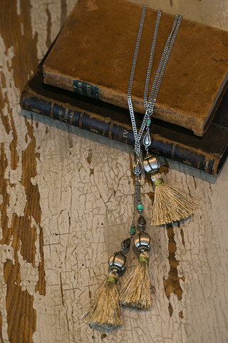 Navarro Tassel Necklace