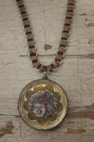 Serendipity Designs by Susan Pansy Necklace