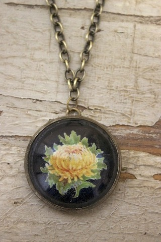 Serendipity Designs by Susan Peony Necklace