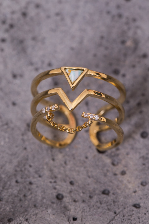 Astrid Gold Ring