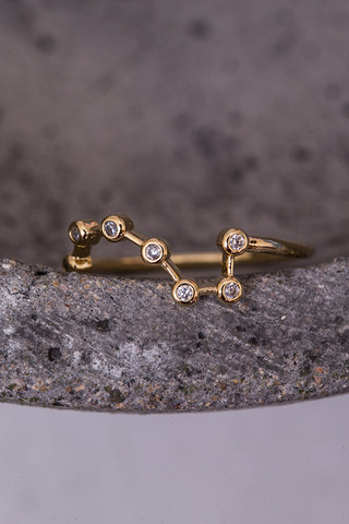 Constellation Gold Ring