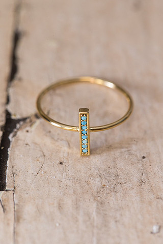 Five And Two Flynn Turquoise Ring