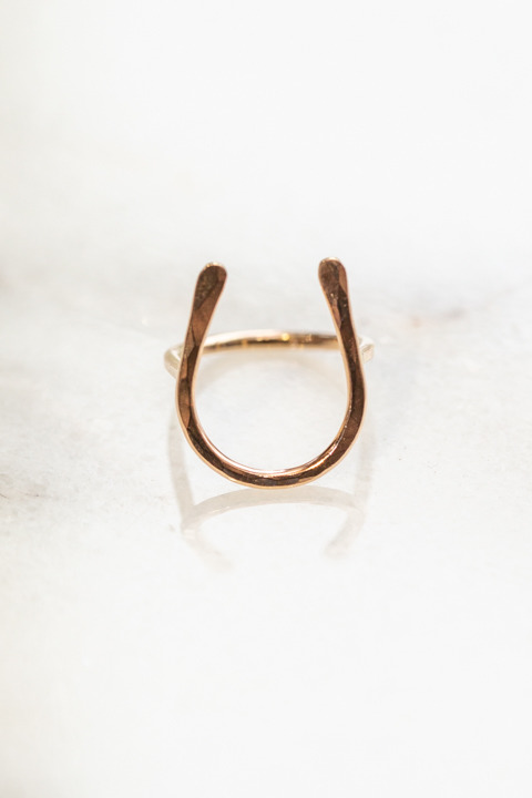 Nashelle Horseshoe Ring