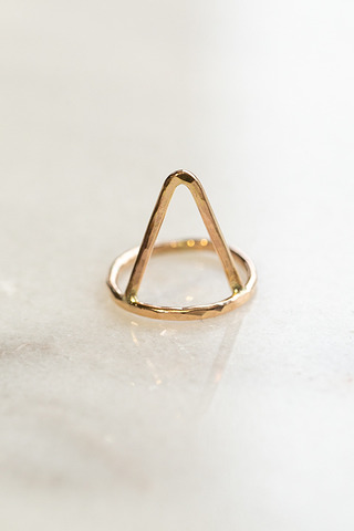 Nashelle Triangle Ring