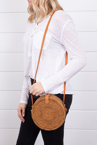 Bali Circle Bag Brown