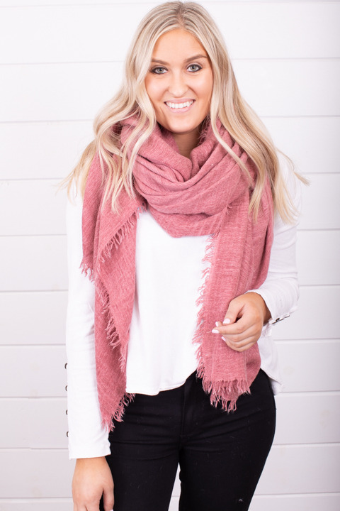 Free People Sun Washed Travel Scarf Mars