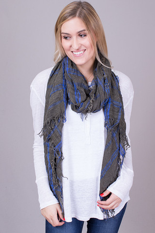 Lovestitch Olive Scarf