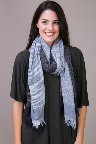 Mystree Two-Tone Scarf