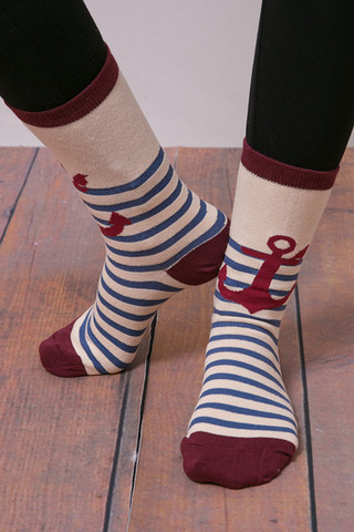 Love Dove Anchor Stripe