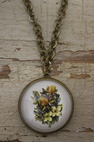 Serendipity Designs by Susan Southern Bell Magnolia Necklace